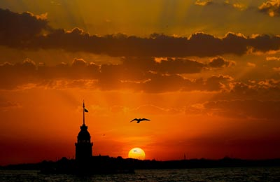 The Maiden Tower in Istanbul